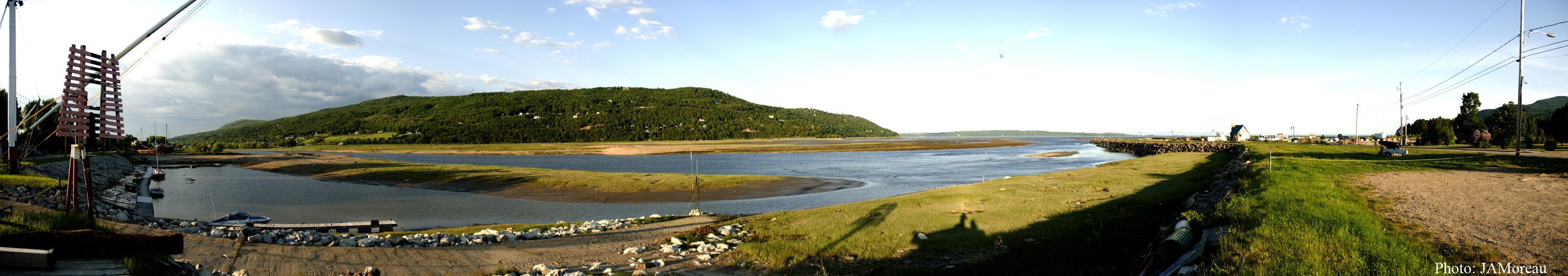 Panoramique Baie St-Paul 1